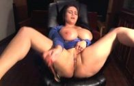 Big-Melons-BBW-Squirts-all-over-herself-multiple-times